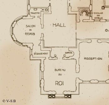 Plan Darulaman Tajbeg Amanullah Khan Office